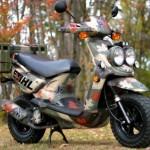 скутер Yamaha Zuma
